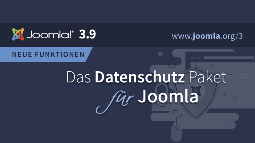 Joomla Version 3.9 ist da